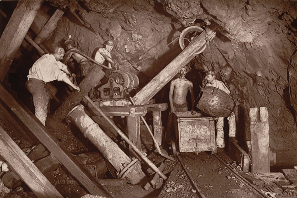 Engine Shaft At The 406, Cook's Kitchen Mine